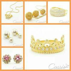 A Cassie é uma loja online de bolsas e semijoias .   As semijoias são folheadas a ouro com garantia de 6 meses, no defeito de fabricação .  As peças têm de 5 a 15 milésimos de ouro.  Possuem detalhes de cristais, strass, zircônias, pedras naturais , entre outros.    Nossas fotos não sofrem manipulação.     Acessem o site: www.cassie.com.br    Pague em até 10x sem juros.   #Cassie #Moldiv#semijoias #moda #acessórios #tendências #sãopaulo #happy #Good #cute #instalook #inlove #dourada…