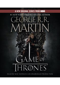George R. Martin is an amazing writer..could not put these books down!