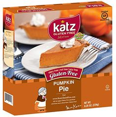 Katz Gluten Free Pumpkin Pie, 8.25 Ounce, Certified Gluten Free - Kosher - Dairy, Nut & Soy free - (Pack of 6) -- Learn more by visiting the image link.