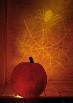 Web of Light Scary Halloween Pumpkins, Scary Pumpkin, Fall Pumpkins, Halloween Decorations, Carved Pumpkins, Pumpkin Ideas, Pumpkin Lights, Pumpkin Carving Patterns, Holidays Halloween