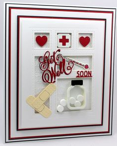 Get Well Shadowbox