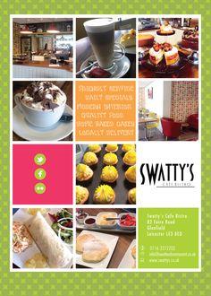 Flyer Design by kattis for Small cafe bistro needs a flyer design  - Design #4491848