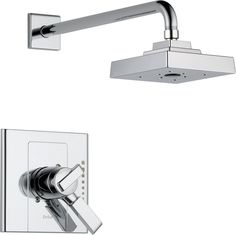 Features:  Product Type: -Shower Faucet.  Shower Head Type: -Rain shower head.  Style: -Modern.  Faucet Control Type: -Dual function.  Faucet Handle Included: -Yes.  Country of Manufacture: -United St