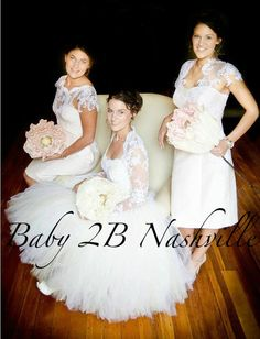 Womens Ivory and Cream Tutu Cocktail Length by Baby2BNashville, $157.00