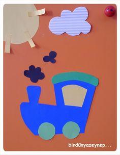#preschool #okulöncesi #kindergarten #sanatetkinliği #kidscraft #tren #dolapsüsü