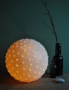 Lesser Spotted Pollen Lamp by #Etsy