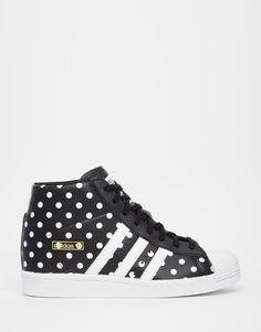 Image 1 - Adidas Originals - Superstar - Baskets montantes à pois
