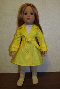 Мастер-класс по пошиву плащика. / Мастер-классы, творческая мастерская: уроки, схемы, выкройки кукол, своими руками / Бэйбики. Куклы фото. Одежда для кукол