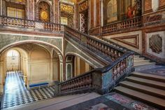 The Queen's Staircase , Versailles.