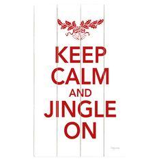 Keep Calm Jingle On Wall Decor - The Details on Joss & Main