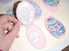 Easter- printable resurrection eggs that match Benjamin's Box and the resurrection eggs by Family Life.