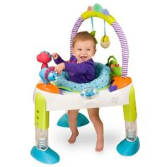 "ExerSaucer® by Evenflo® Fast Fold + Go™ ""D"" is for Dino Activity Learning Center - buybuyBaby.com"