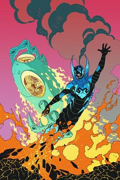 Blue Beetle by Cully Hammer