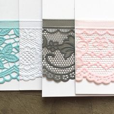 Personalize your card by picking your own lace and string color! #handmadejewelry #bridesmaidgiftideas #handmadegifts #etsyshop #etsyscout
