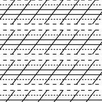Cursive alphabet: Lessons