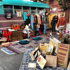 Melrose Trading Post aka Fairfax Flea Market-I'm not a flea market person, but I LOVE going here on Sundays! It's a must see for anyone visiting Los Angeles. Lot's of antiques, vintage jewelry, clothing, and handbags, along with cool art, and FOOD!