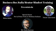 Business Box Italia Mindset Training by Mirko Sabia, Lino Curci and Special Guest Mr. Special Guest, Internet Marketing, Mindset, Channel, Knowledge, Training, Education, Business, Youtube