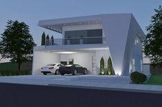 Plano contemporánea con 3 suites