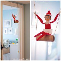 Elf On The Shelf swing
