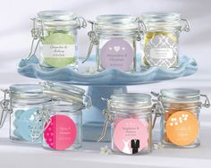 Party favour jars... too cute