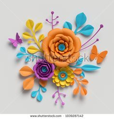 Find Render Paper Flowers Bouquet Vivid stock images in HD and millions of other royalty-free stock photos, illustrations and vectors in the Shutterstock collection. Paper Flower Backdrop, Paper Flowers Diy, Paper Roses, Kate Spade Wallpaper, Flower Box Gift, Orange Paper, Wedding Frames, Diy Wedding Decorations, Aesthetic Iphone Wallpaper