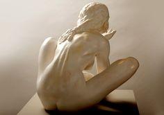 'Le coeur de Valentine' - Fred Fichet - Sculpture | Sculpture Platre