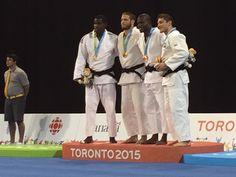 July 13 - Judo - Men's - 81 kg.  Cuba's Ivan Felipe Silva - Silver.  USA's Travis Stevens - Gold.  Colombia's Pedro Castro and Brazil's Victor Penalber - Bronze.