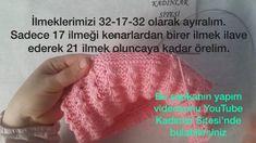 Kolay Ve Şık Çocuk Şapkası Tarifi. 1 yaş – Örgü resimli anlatımlı örgü sitesi Crochet Hats, Hens, Layette, Puppets, Knitting Hats