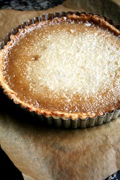 This tart is similar to a creme brulee (so that means it's obviously insanely delicious). Get the recipe from Alexandra's Kitchen.   - Delish.com