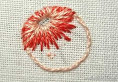 Long and Short Stitch Shading Lesson 4: Circles, Flat and Round – Needle'nThread.com