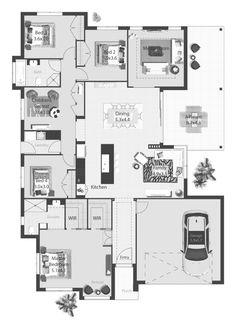 Adriatic - Pycon Homes new home design.