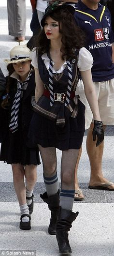Not too sure about yours on the left Brian - Lena Headey - St Trinians Fashion Tv, School Fashion, Girl Fashion, Fashion Design, Tallulah Riley, St Trinians, Pride And Prejudice 2005, Fishnet Leggings, Fancy Dress