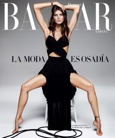 Fashion Model, Actress @ Isabeli Fontana by Alique for Harper's Bazaar Spain, April 2015