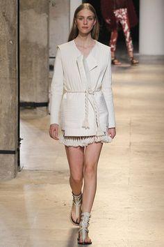Isabel Marant Spring/Summer 2015 ready-to-wear #PFW #Paris #FashionWeek