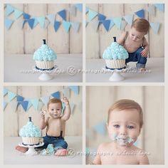 Cake Smash: Doppelbanner - First Birthday Photography - Baby Cake Smash, 1st Birthday Cake Smash, Baby Boy 1st Birthday, Baby Boy Cakes, Smash Cake For Boys, 1st Birthday Cakes For Boys, Nautical Cake Smash, Birthday Ideas, Cake Smash Photography
