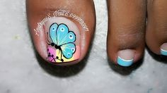 Pedicure Nail Art, Toe Nail Art, Toe Nails, Toe Nail Designs, Bling Nails, Pretty Nails, Finger, Beauty Hacks, Hair Beauty