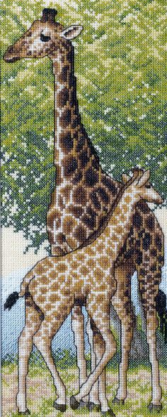 giraffe cross stitch