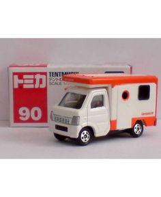 Tomica Tentmushi Suzuki Carry รถเหล็กลิขสิทธิ์แท้จากประเทศญี่ปุ่น scale 1/55