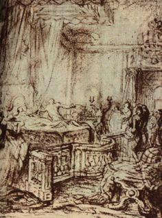 1778 à Versailles, naissance de la petite Marie-Thérèse Charlotte de France (Esquisse vers 1778) — Wikipédia