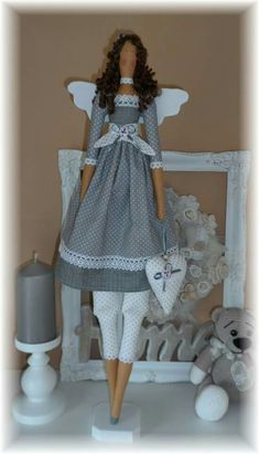 Tilda Doll Clothes Patterns, Doll Patterns, Clothing Patterns, Sock Toys, Fabric Toys, Sewing Dolls, Fairy Dolls, Soft Dolls, Handmade Toys