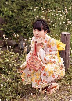 """girlsinkimono: """"Natsumi Matsuoka """""""