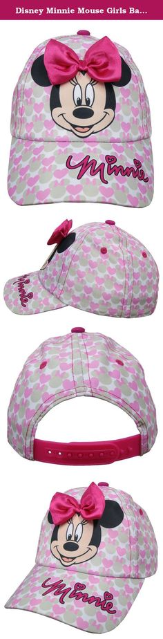 76f5c752f5d Disney Minnie Mouse Girls Baseball Cap - Toddler  6014 . Bring Your  Favorite Character From Disney