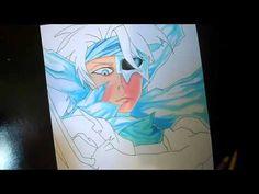 Speed Drawing Tōshirō Hitsugaya - Bleach / 日番谷冬獅郎 - ブリーチ