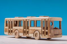Hand Carved Wood model Car Toy Rolling Wheels Made In Russia Wooden Toy Trucks, Wooden Gears, Hobby Toys, Woodworking Toys, Pull Toy, Waldorf Toys, Wood Patterns, Wood Toys, Creative Kids