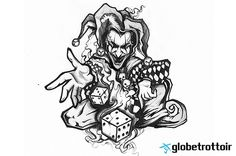 http://www.tattoobite.com/wp-content/uploads/2013/12/joker-clown-throwing-dice-tattoo-design.jpg