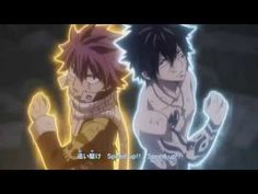 Fairy Tail Opening 21 - YouTube <-- This is now my most favorite opening of Fairy Tail!
