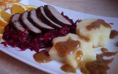 Duck breast ... soy sauce, ginger, honey and orange peel ... perfect recipe for dinner        Pierś kaczki