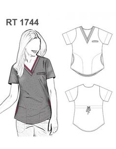 Doctor Scrubs, Beautiful Nurse, Scrubs Outfit, Lab Coats, Nurse Costume, Medical Scrubs, Outfit Trends, Fashion Sewing, Sewing Projects