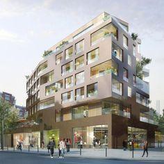 Résidence de 61 logements pour Personnes Agées du Yersin à Paris (13e)