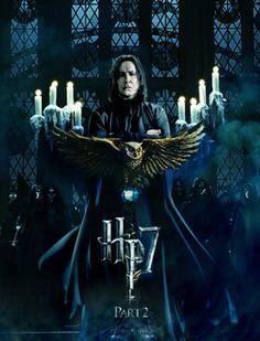 Harry Potter et les Reliques de la Mort- Professeur Rogue majestueux